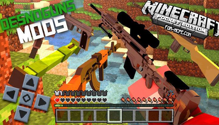 DesnoGuns - мод на огнестрельное оружие