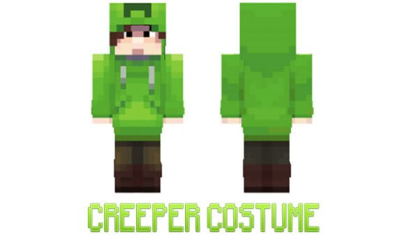Скин Creeper costume