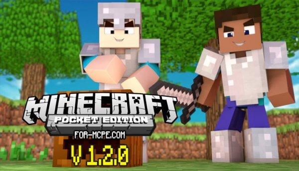 Скачать Minecraft 1.2 / 1.2.0 на Андроид