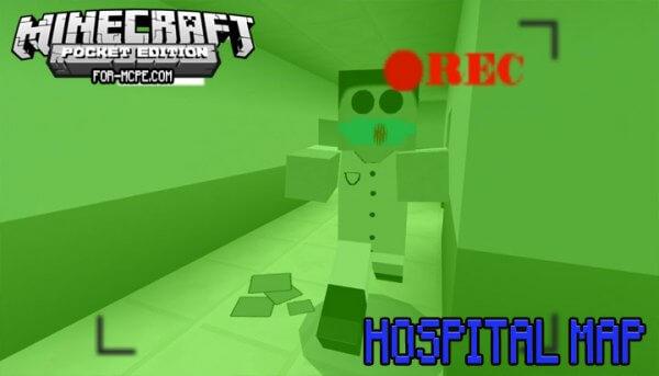 Hospital - карта Госпиталь для Майнкрафт ПЕ