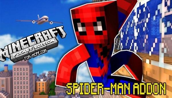 Spider-Man - мод на Человека Паука