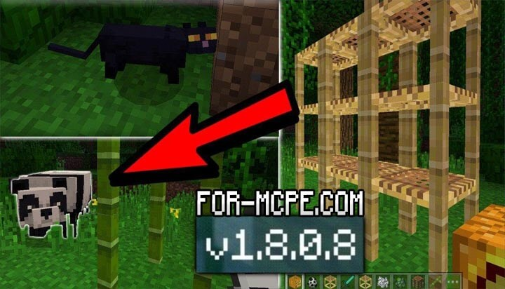 Скачать Minecraft 1.8.0.8