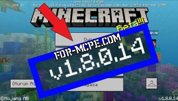 Скачать Minecraft 1.8.0.14