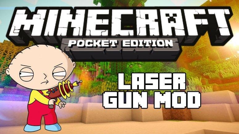 Laser Gun - мод на лазерные пушки