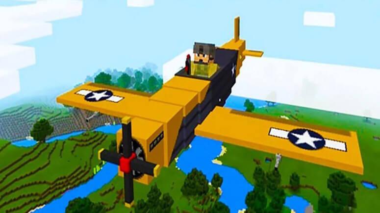 War Plane - мод на военный самолёт