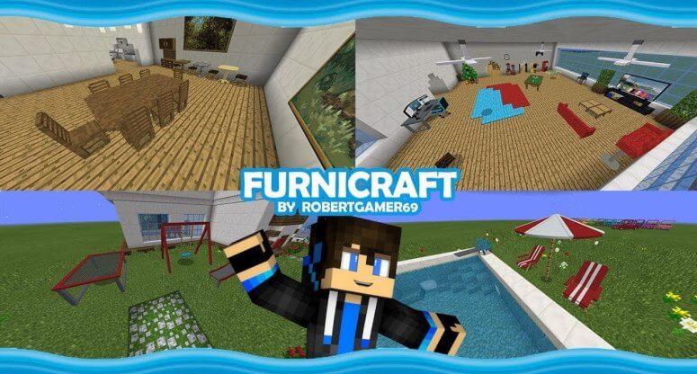Furnicraft - мод на мебель и декор