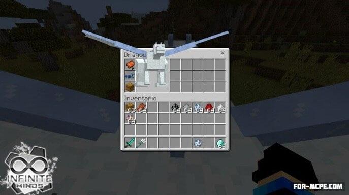 Мод на драконов для Minecraft Pocket Edition