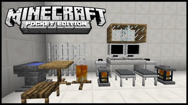 Mine-Furniture - мод на мебель