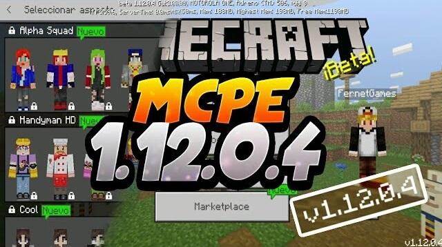 Скачать Майнкрафт 1.12.0.4