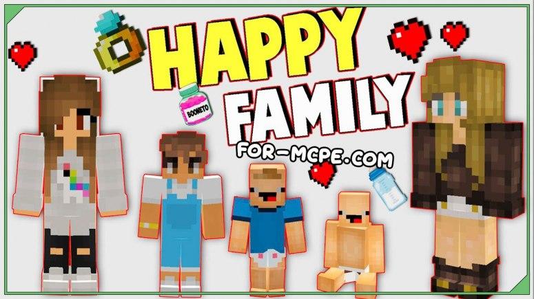 Мод на семью и детей - Happy Family 1.16, 1.15, 1.14