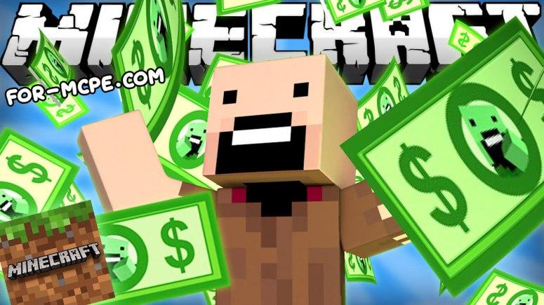 Мод на деньги - Notch's Money 1.16, 1.15, 1.14