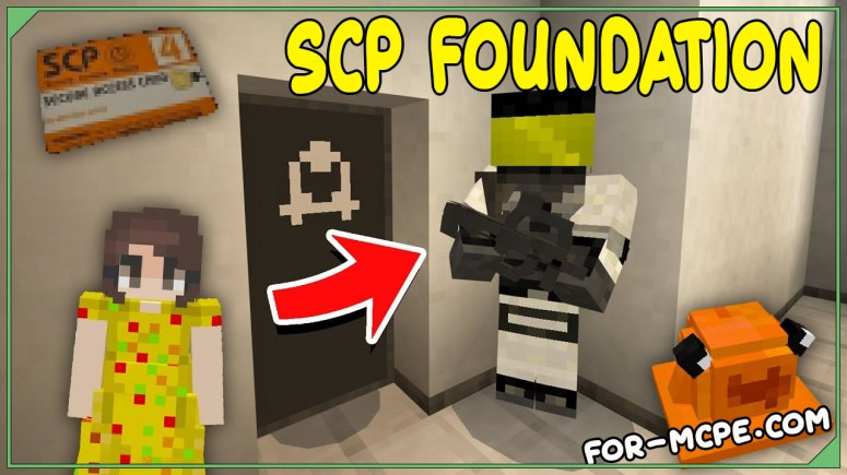 Мод СЦП Фонд - SCP Foundation 1.16, 1.15, 1.14