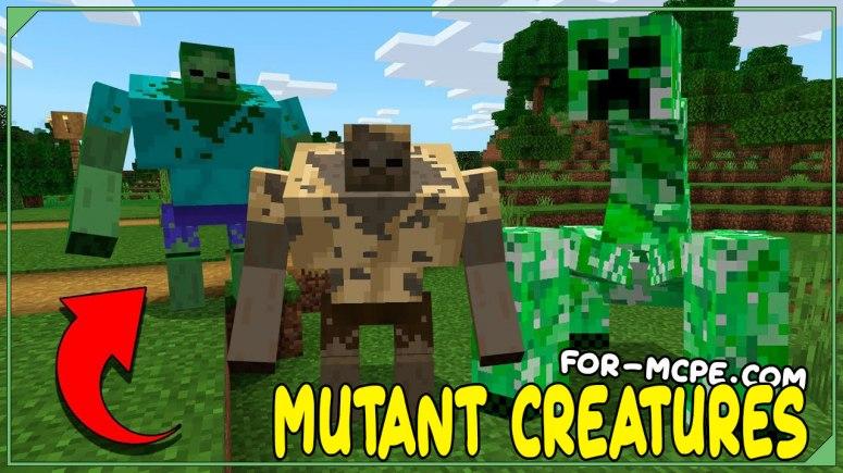Mutant Creatures - мод на мутантов 1.16, 1.15, 1.14