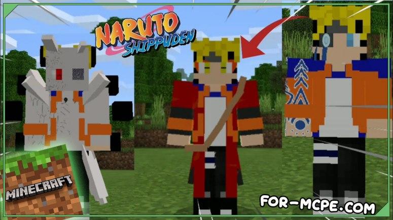 Naruto - мод на Наруто 1.16, 1.15, 1.14