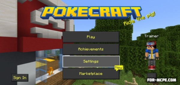 PokeCraft addon