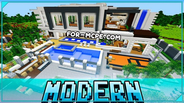 Luxurious Modern Mansion - роскошный особняк