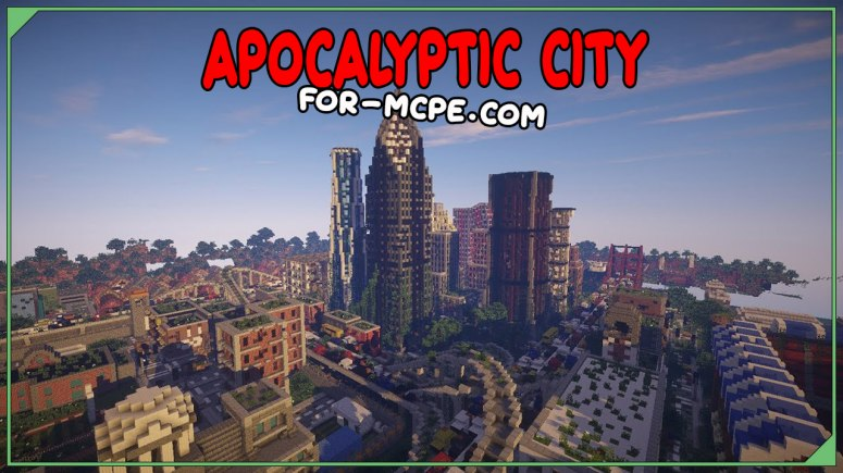Карта Заброшенный город - Apocalyptic City